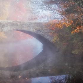 Len Sampson - Clearing fog - OK Fall