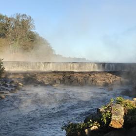 Mist at the falls - MDiPrete