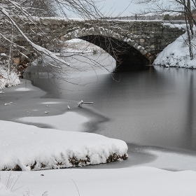 Wintry river