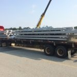 Steel Deliver for the Worcester Visitor Center