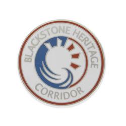 Blackstone Heritage Corridor Enameled Pin