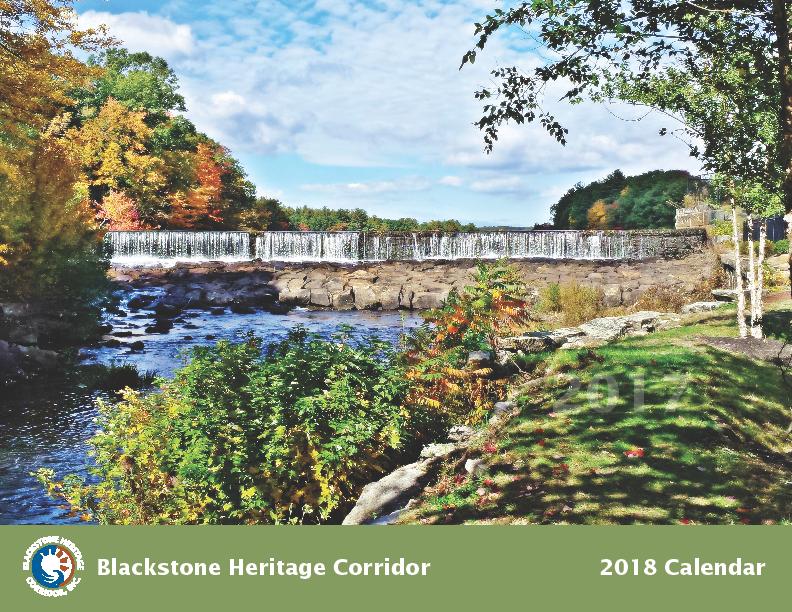 2018 Calendar Cover - Blackstone Heritage Corridor