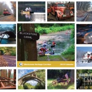 Blackstone Heritage Corridor 2019 Calendar