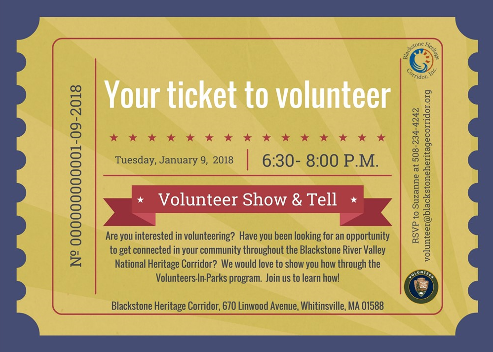 Ticket to Volunteer