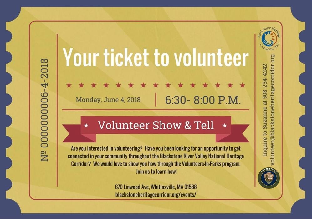 Volunteer-In Parks program