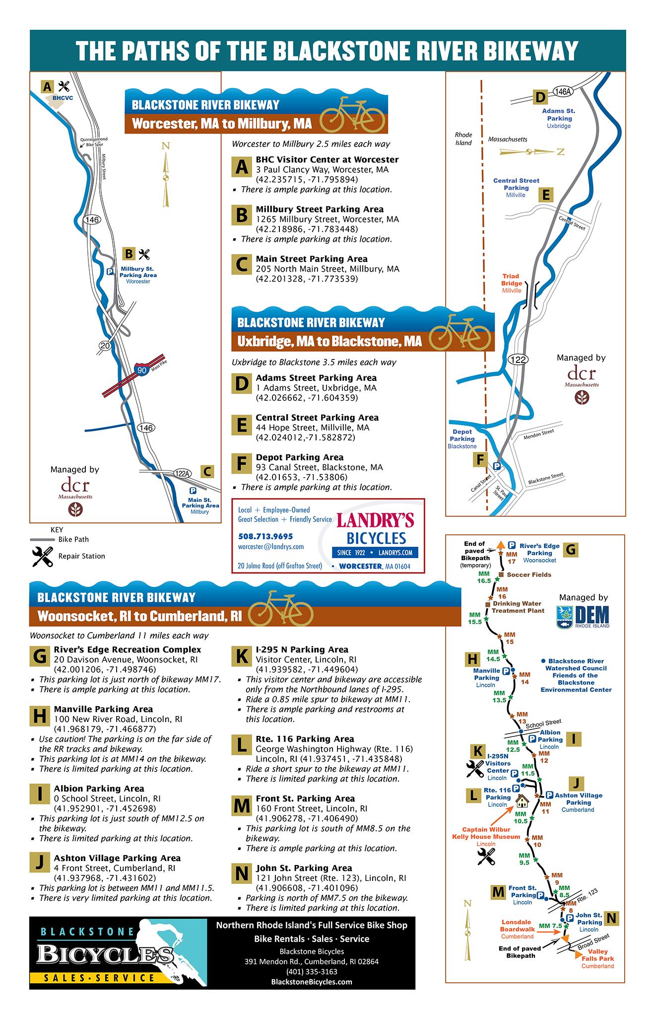 Bikeway Map
