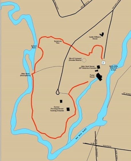 Hike Hunt's Mills This March