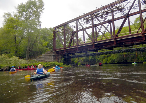 Paddle in the Blackstone Watershed