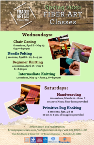 Spring Trad Arts Classes