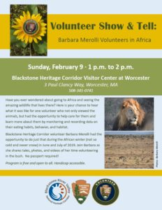 Volunteer Show and Tell