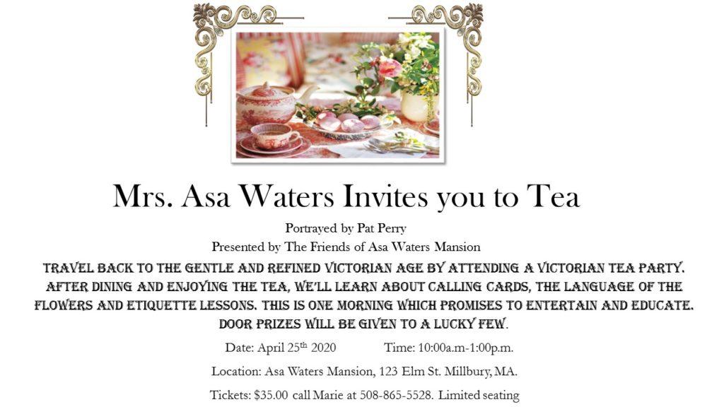 Mrs. Waters tea