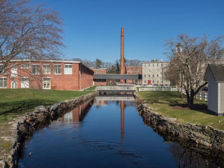 Slatersville Mill. Photo by Carol Dandrade, Blackstone Heritage Corridor Photography Ambassador.