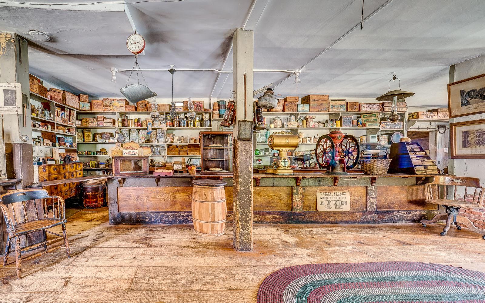 E.N. Jenckes Store. Photo by Dennis Smith, Blackstone Heritage Corridor Photography Ambassador