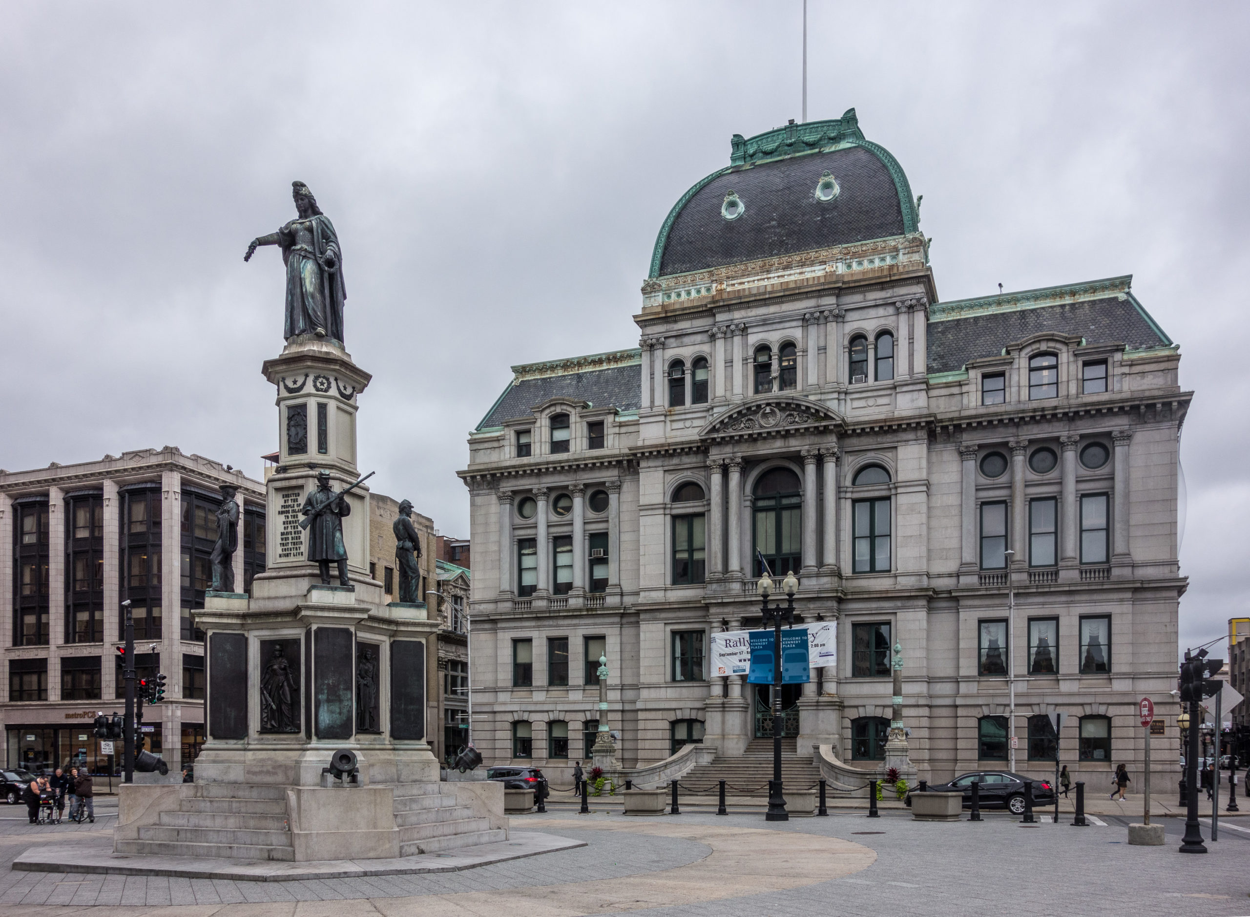 Providence City Hall. NRHP 75000001.