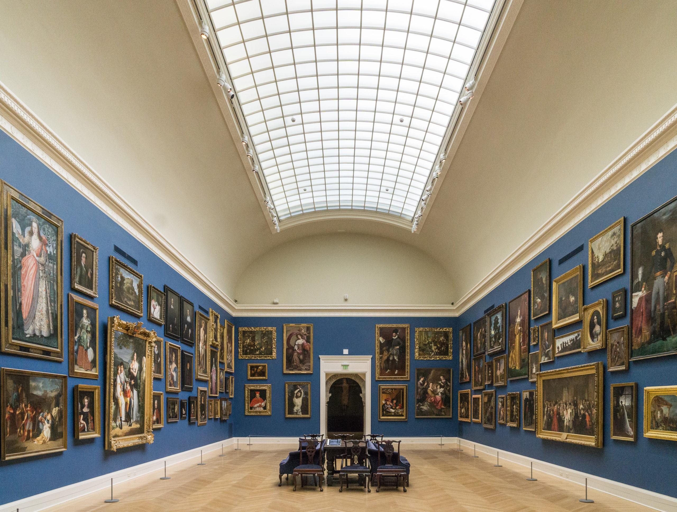 RISD Museum of art interior