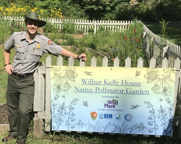 Ranger Tyler Shepard-Native Pollinator Garden.