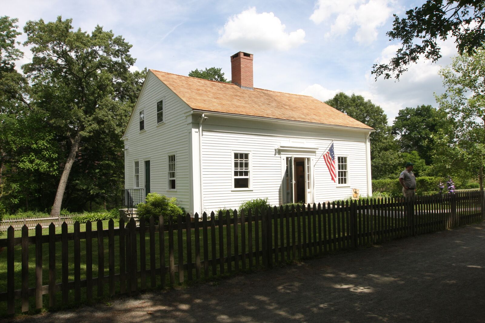 The historic Kelly House is where all of the transportation stories of the Blackstone River Valley come together.