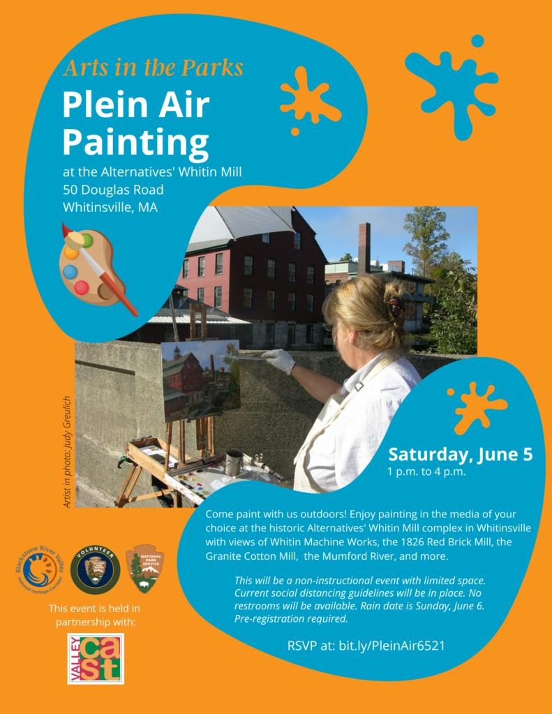 Plein Air at Whitin Mill_6.5.21