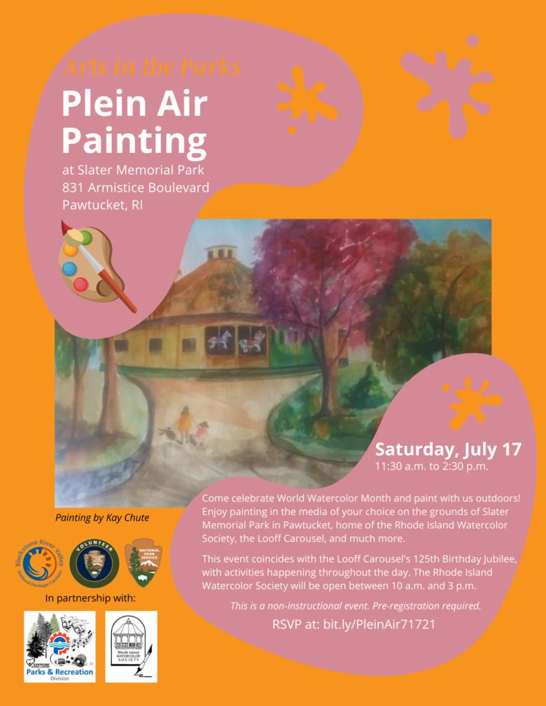 Plein Air at Slater Park_71721