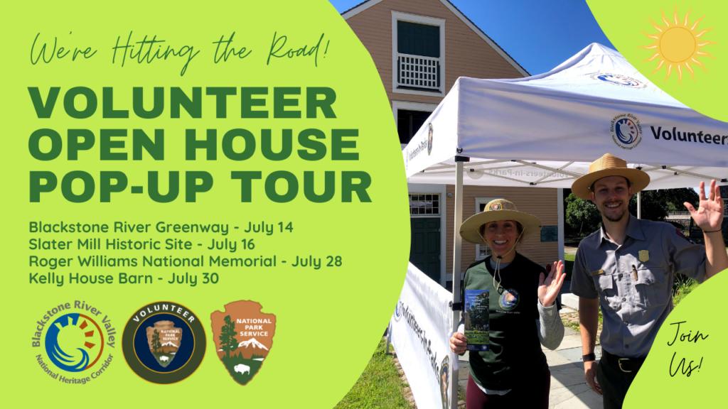 Volunteer Open House Pop Up Tour (1)